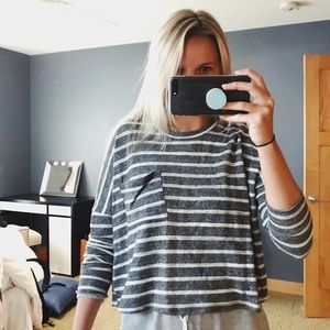 Urban outfitters stripped sweater